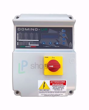 Immagine di QUADRO ELETTRONICO DOMINO-UP T/10 TRIFASE