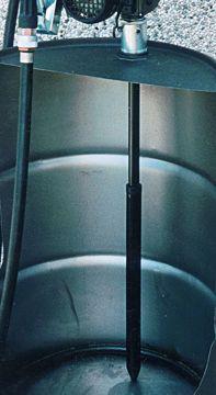 """Immagine di PIUSI TUBO ASPIRAZIONE ESTENSIBILE PLASTICA 1"""""""